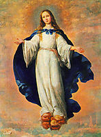 The Immaculate Conception, 1661, zurbaran