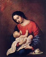 Madonna with Child, 1658, zurbaran