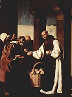The mercy of Fra Martin de Vizcaya, 1639, zurbaran