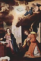 Monastery of Nuestra Señora de la Defensión at Jerez de la Frontera, The Annunciation, c.1638, zurbaran
