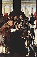 Monastery of Nuestra Señora de la Defensión at Jerez de la Frontera, Scene: The Circumcision, 1639, zurbaran