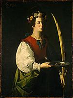 Saint Lucy, 1630, zurbaran
