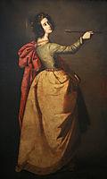 Saint Ursula, 1650, zurbaran