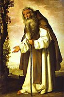 St. Anthony Dispirited, 1640, zurbaran