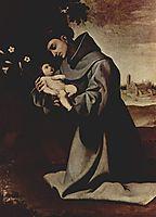 St. Anthony of Padua, c.1640, zurbaran