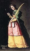 St. Apollonia, 1636, zurbaran