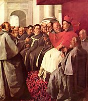 St. Bonaventure at the Council of Lyons, zurbaran