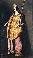 St. Catherine of Alexandria, zurbaran