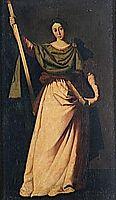 St. Eulalia, zurbaran