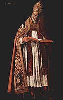 St. Gregory, 1627, zurbaran