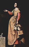 St. Rufina of Seville, 1640, zurbaran