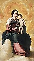 Virgin of the Rosary, zurbaran